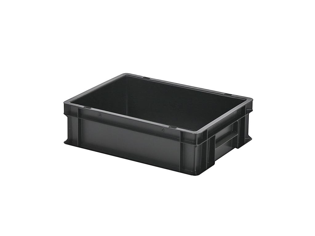 Transportkiste  Box Gastro Schwarz   M