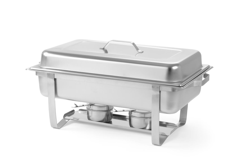 Chaving-Dishes 1GN Einsatz inkl. Brennpaste, ohne Reinigung