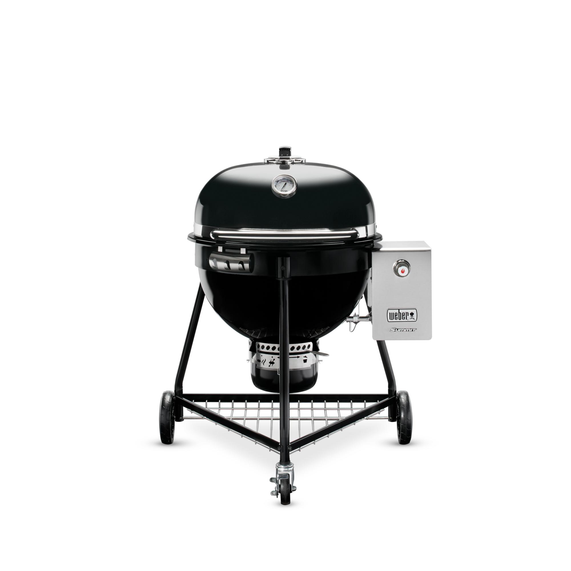 Summit® Charcoal Grill, 61 cm, Black