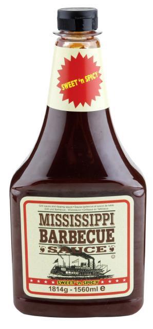 Mississippi BBQ Sauce Sweet Apple 510g
