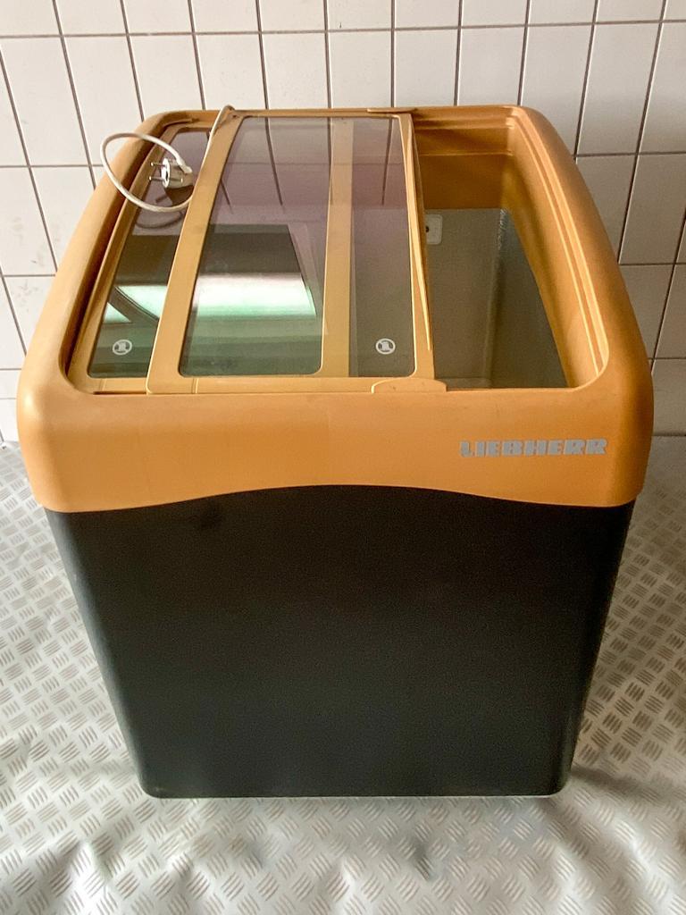 Fahrbarer Leih-Mini-Tiefkühler 300L, für Getränke, Eis oder Grill-Food an heißen Tagen im Sommer