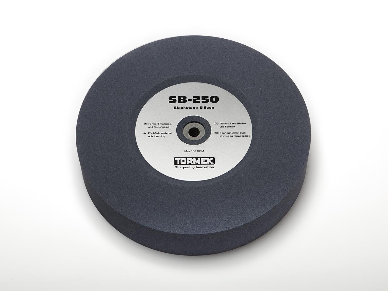 Schleifstein - Blackstone Silcone, 250mm