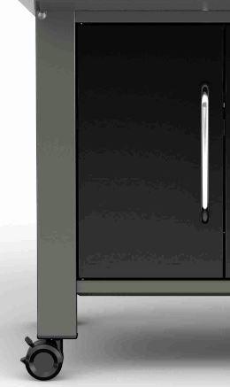 Linke Tür füe Genesis® II E-340 LX, black