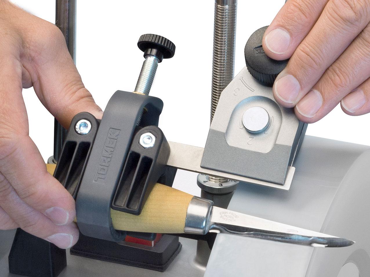 Vorrichtung f. kleine Messer