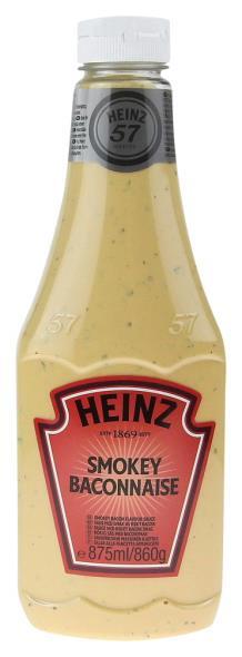 Heinz Sauce Smokey Baconnaise 875-ml-Fl