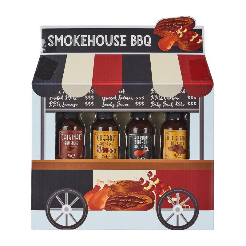Foodcart Smokehouse BBQ Geschenkset Sampler Set