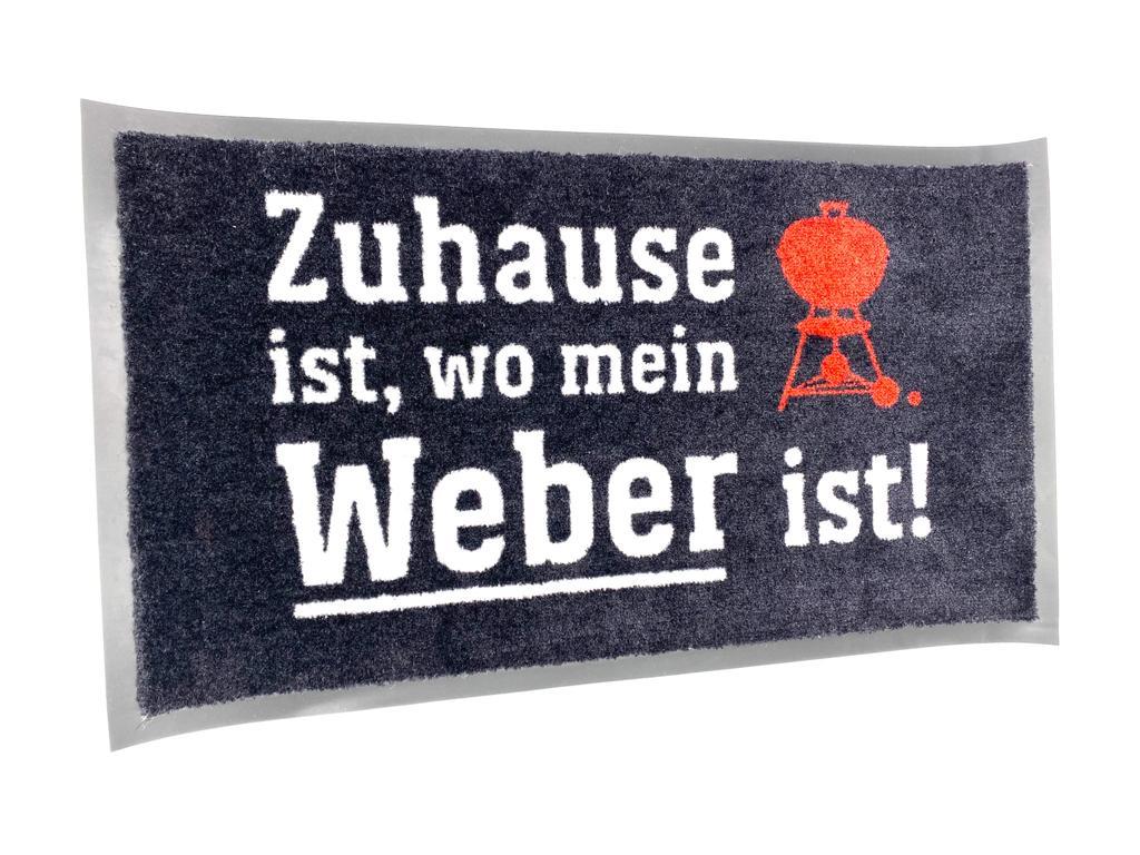 """Weber® Fußmatte """"Zuhause ist, wo mein Weber® ist!"""""""