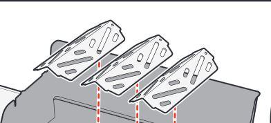 Weber® Hitzeschild  Email Reflektoren Genesis 2012 und Neue, 2 Stück
