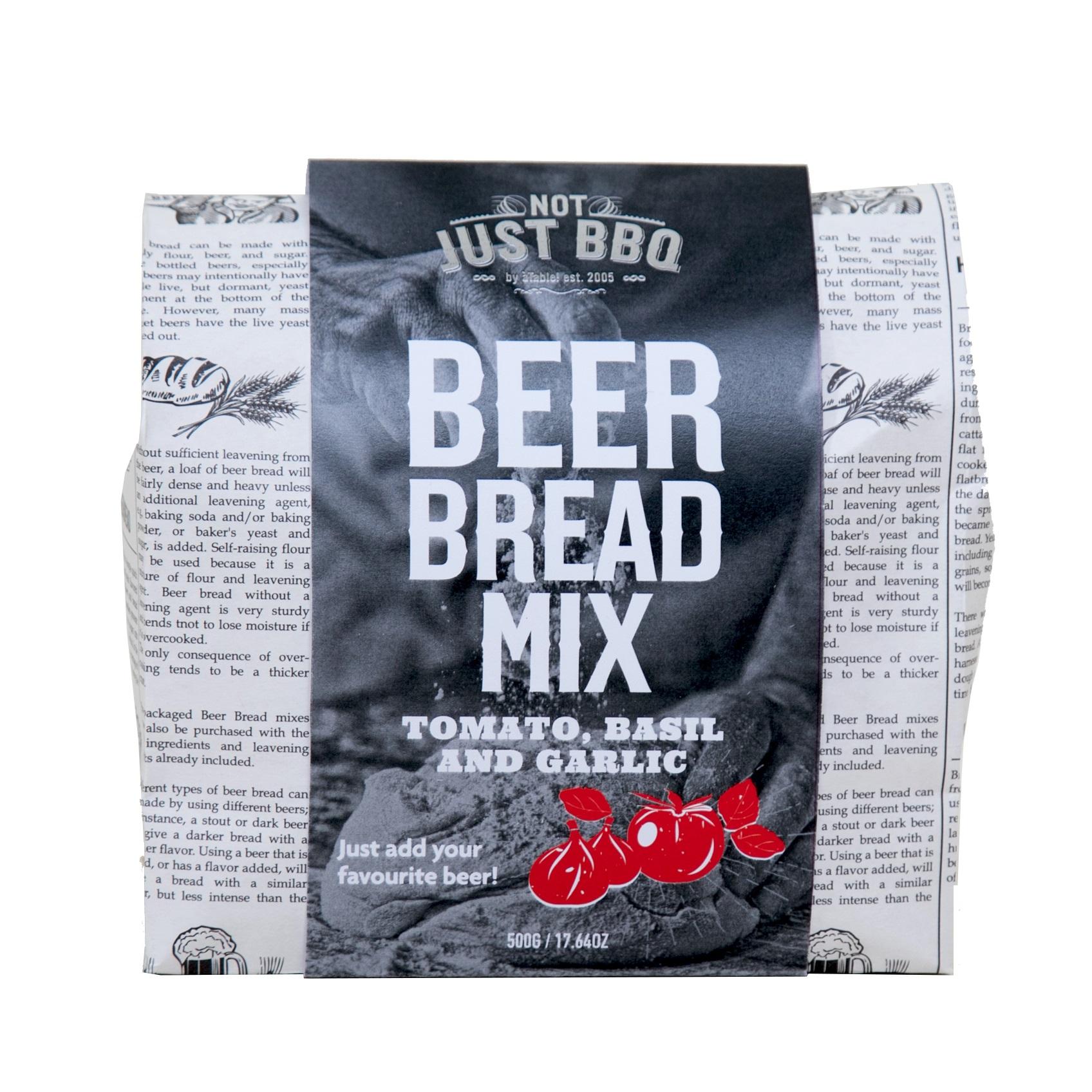 Beer Bread Tomato, Basil, Roasted Garlic 500g