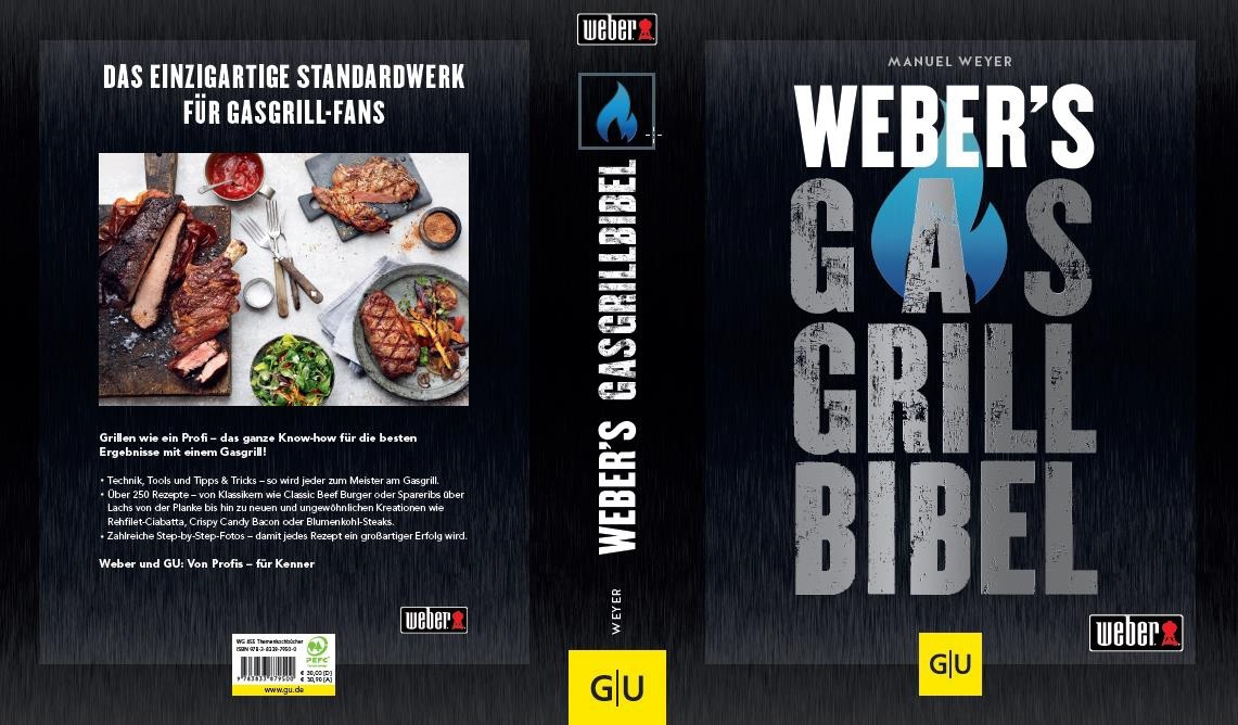 Weber's Gasgrill Bibel  Neu