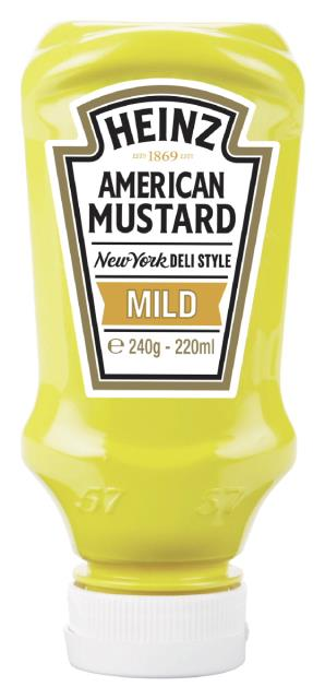 Heinz American Mustard Mild