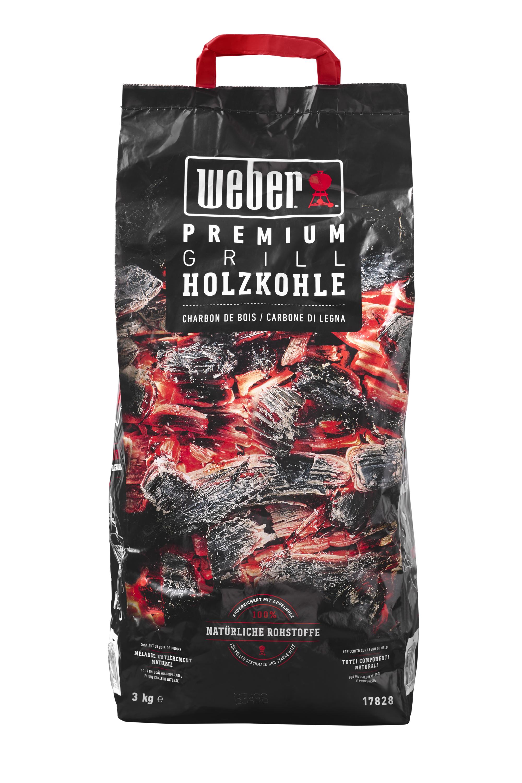 Premium Holzkohle -  3kg