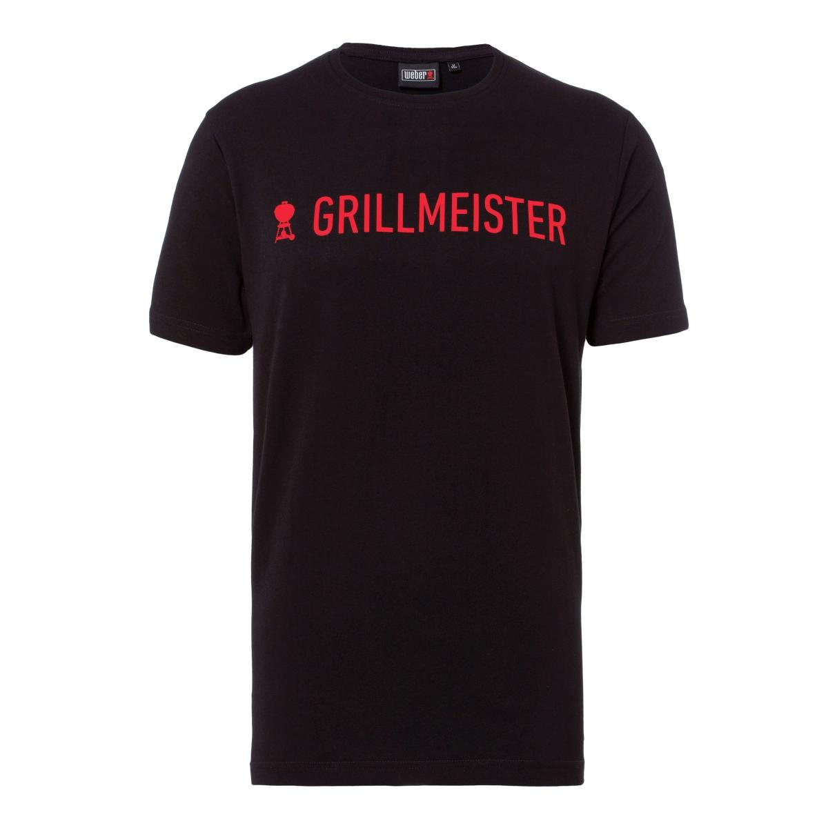 "T-Shirt ""Grillmeister"" Stretch ID0594 men's, XXXL"