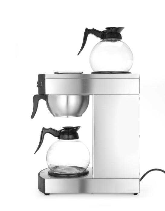 Kaffeemaschine mit 2 Kannen a 2 Liter