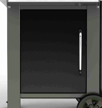 Tür für Genesis® II E-240 LX, black