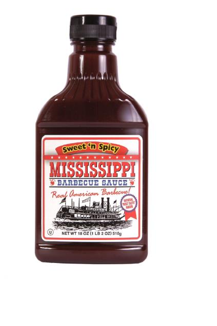 Mississippi BBQ Sauce Sweet`n Spicy 510g