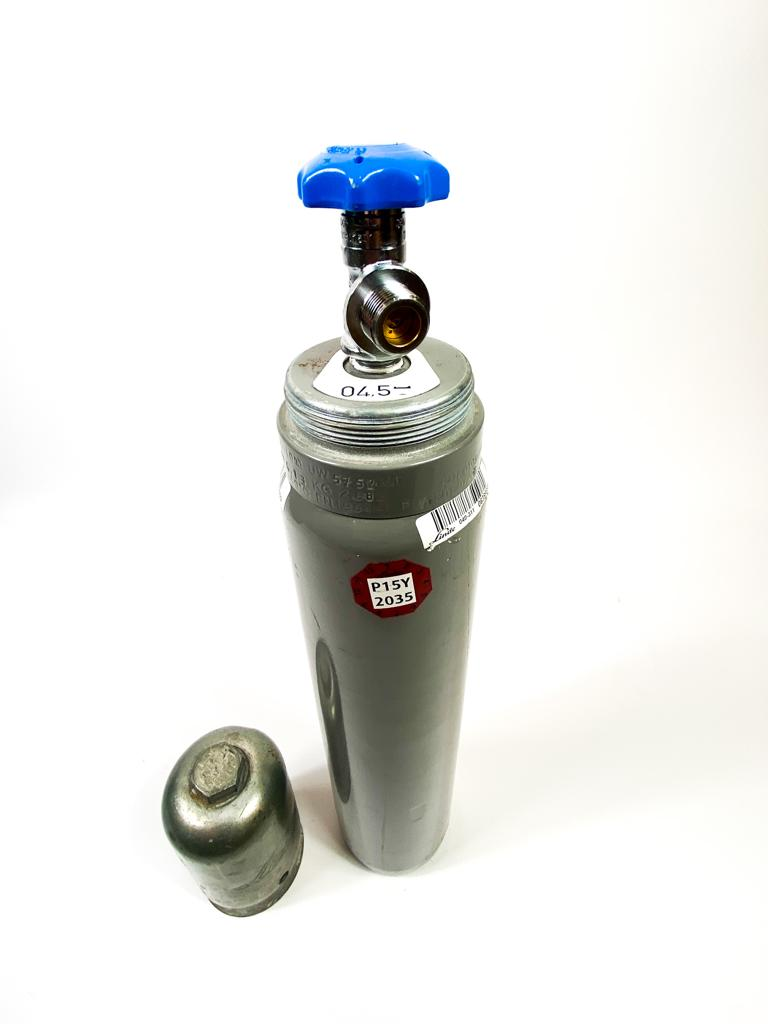 Kohlensäure Flasche 2 kg, mit Pfand