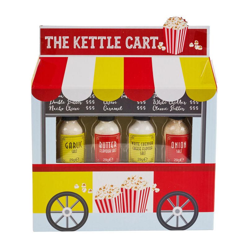 Geschenkset Popcorn- Toppings - 116 G