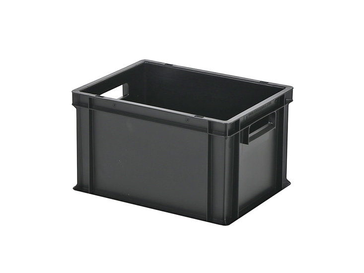 Transportkiste  Box Gastro Schwarz   L