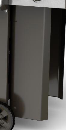 Vordere Gasflaschen Abdeckung Genesis II LX