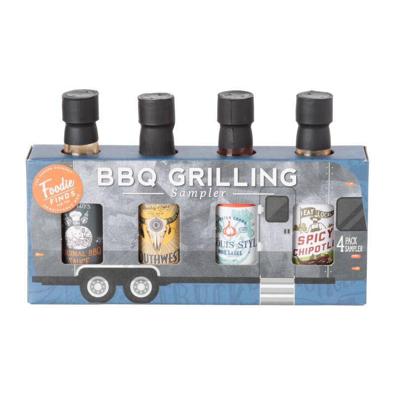 BBQ-Saucen Geschenkeset- 4er Set