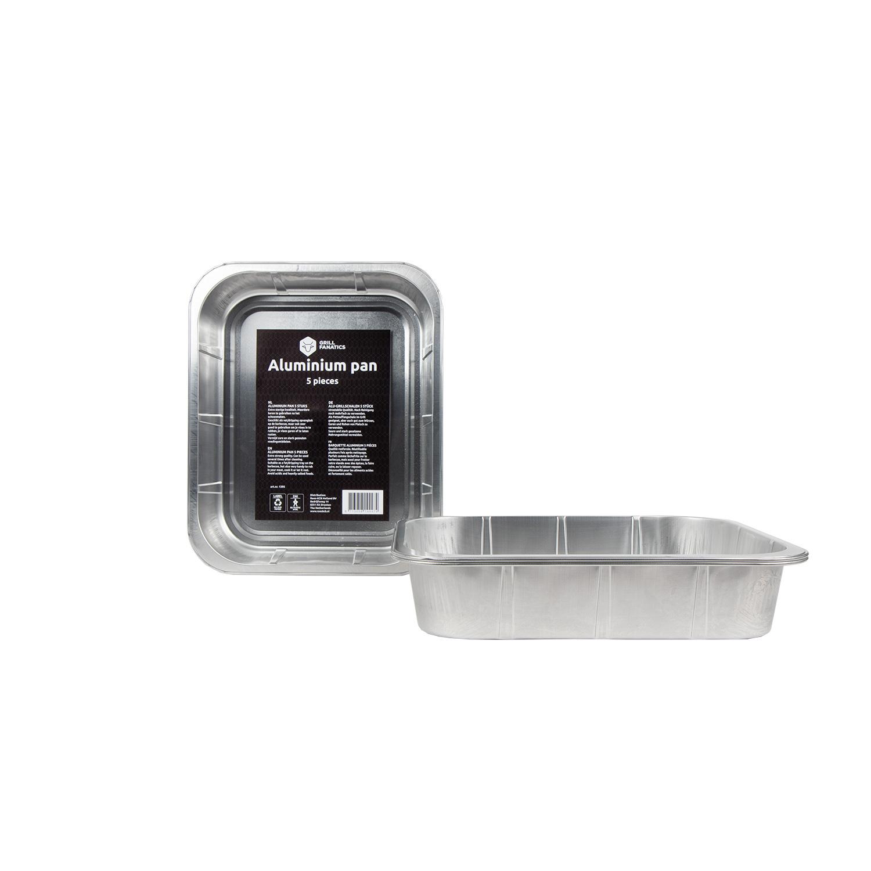 Aluminium Grill & Zubereitungsschale XL